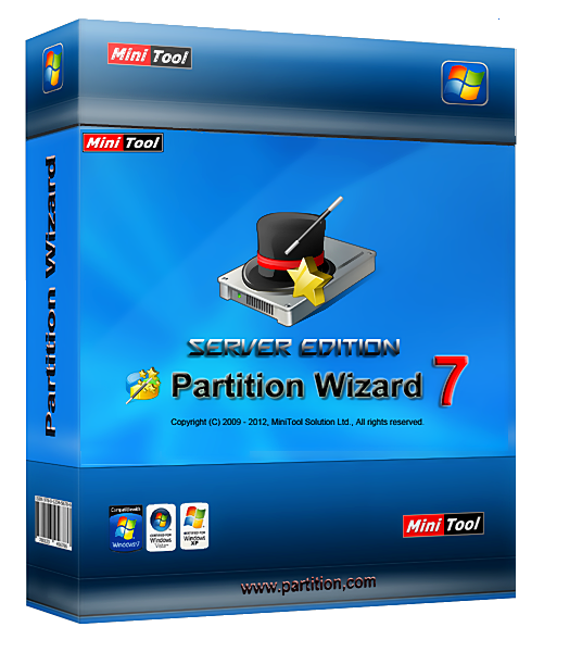 MiniTool Partition Wizard Server Edition v7.6 Final Repack + Portable (2012) [Rus]
