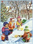 Зима. Мороз и солнце день чудесный... Музыкально-литературная композиция