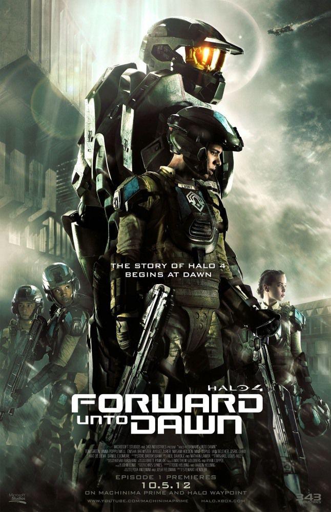 Halo 4: Идущий к рассвету/ Halo 4: Forward Unto Dawn / Сезон: 1 / Серии: 1-5 из 5 [2012] WEBRip 720p (Alternative Production)