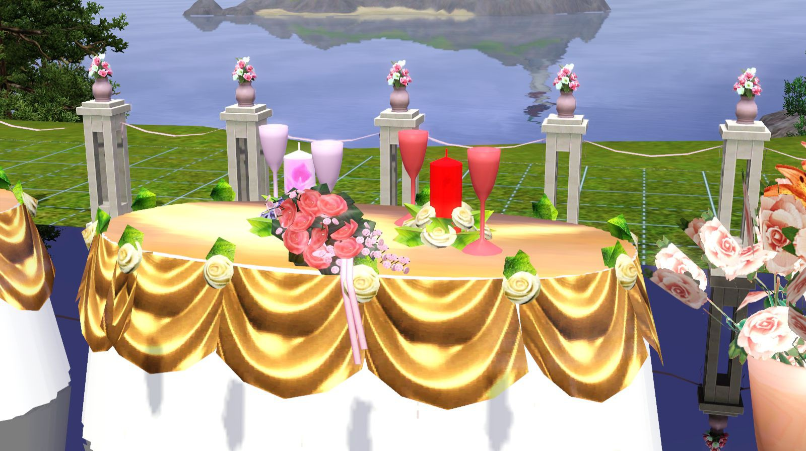 Ladesires Creative Corner Wedding Set By Ladesire