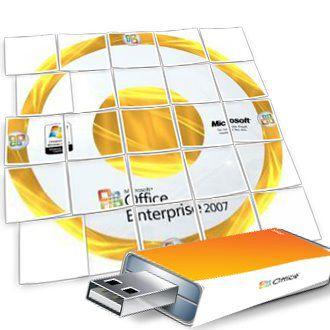 Portable Microsoft Office 2007 3in1 v.1.19 12.0.6554.5001