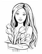 Раскраска для девочек. Выпуски 5, 7, 8, 9, 11