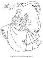 Волшебная раскраска: Спящая красавица