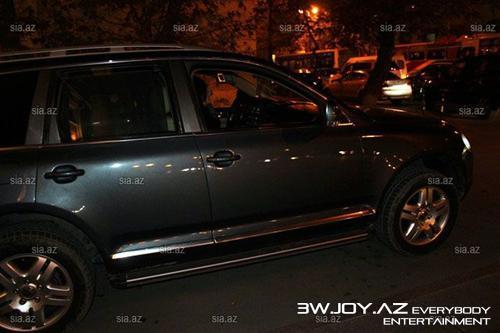 Azərbaycanlı müğənni özünə bahalı avtomobil aldı