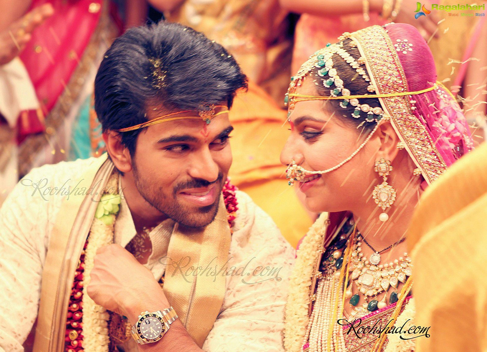 Marriage photos of ravi teja