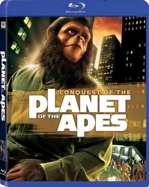 Завоевание планеты обезьян / Планета обезьян 4: Покорение планеты обезьян / Conquest of the Planet of the Apes (Джей Ли Томпсон / J. Lee Thompson) [1972 г., Фантастика, Триллер, Боевик, HDRip]
