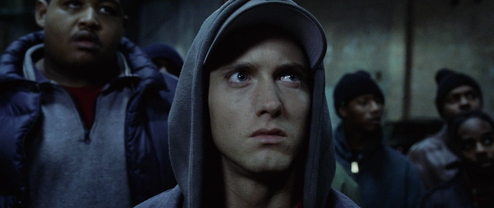 The underdog story of rabbit in the movie 8 mile might have resonated with many