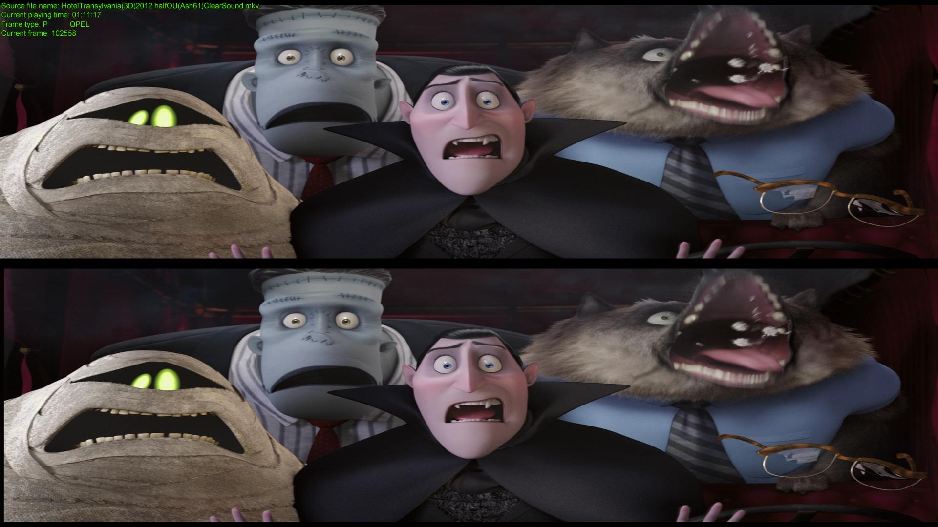 Мoнстры на кaникулах в 3Д / Hоtel Trаnsylvania 3D (2012) BDRip 1080p