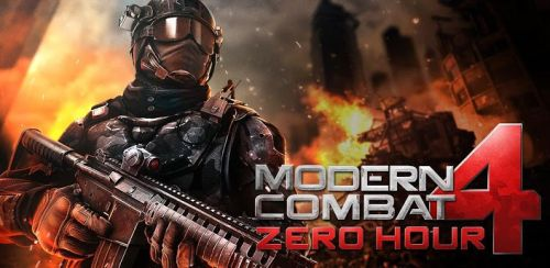 Modern Combat 4: Zero Hour v.1.0.4 (RUS) [P] [Android]