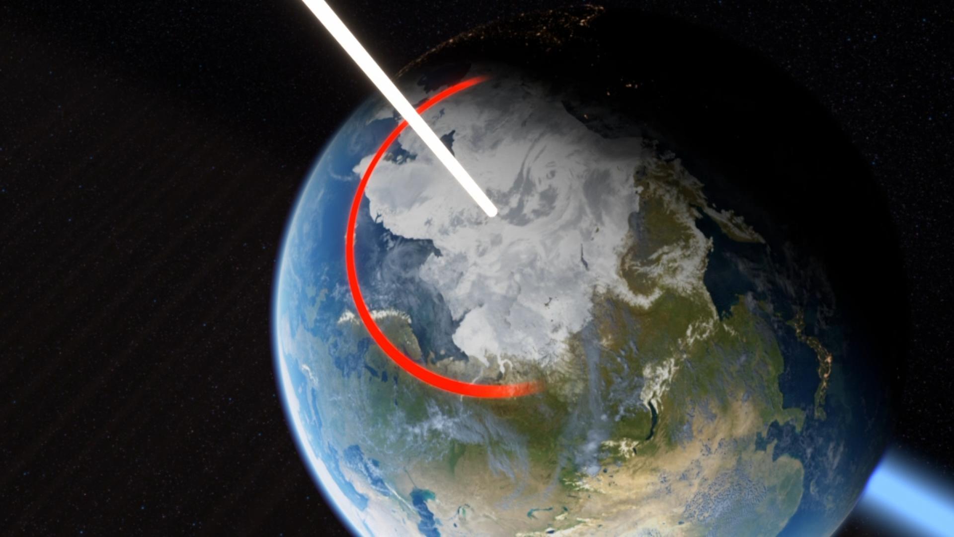 Что будет если ось земли станет вертикальной