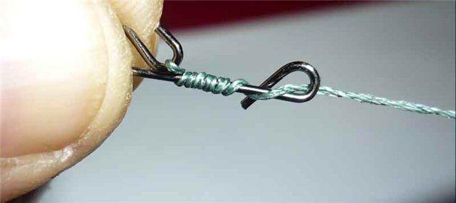 Безузловка для рыбалки своими руками