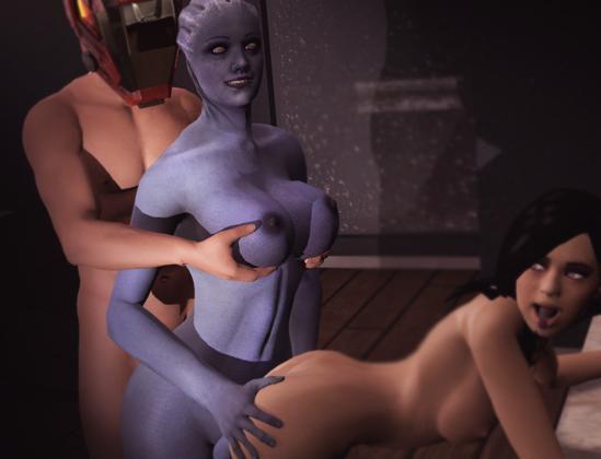 Ass Effect / Эффект задницы [2013] [Uncen] [RPG, 3DCG] [ENG] H-Game