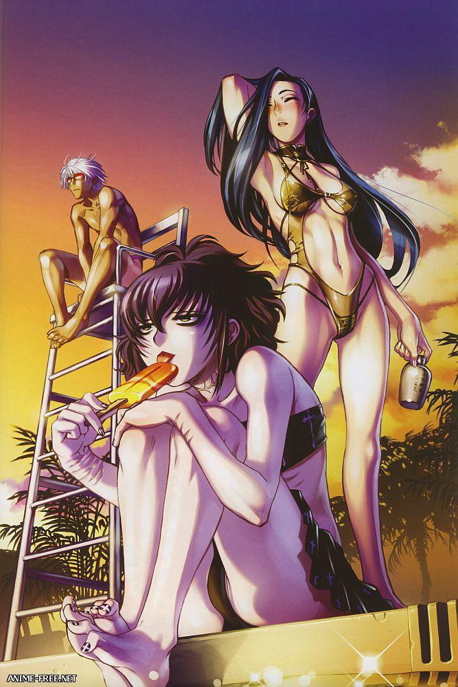 Hiroe Rei / Red Bear / TEX-MEX — Сборник хентай манги и иллюстраций [Cen] [JAP,ENG,RUS] Manga Hentai