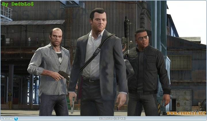 GTA 5 / Grand Theft Auto V [2013 / RUS]