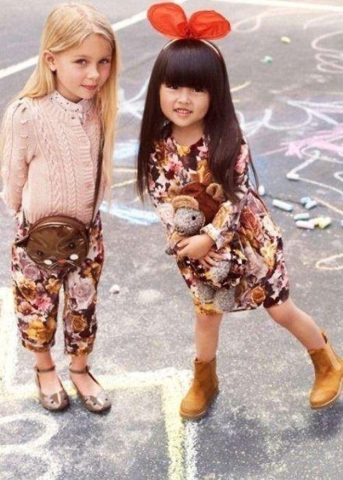 Дети и мода фото