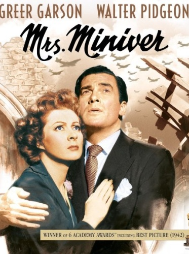 Миссис Минивер / Mrs. Miniver (Уильям Уайлер / William Wyler) [1942, США, драма, мелодрама, военный, HDRip] MVO