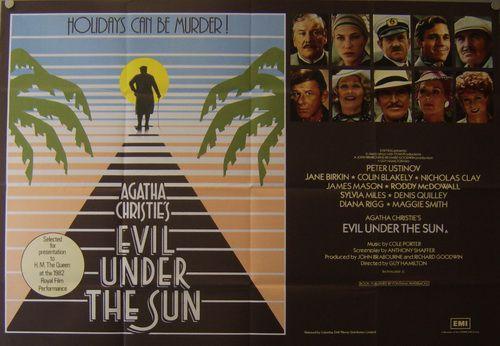 Зло под солнцем / Evil Under The Sun (Гай Хэмильтон / Guy Hamilton) [1982, Великобритания, детектив, BDRip 1080p] DVO + MVO + Original (eng) + Sub (rus, eng)