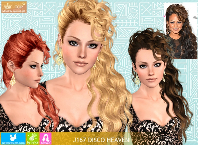 для Sims 3 / Hair - Каталог файлов - SIMS-MODELI