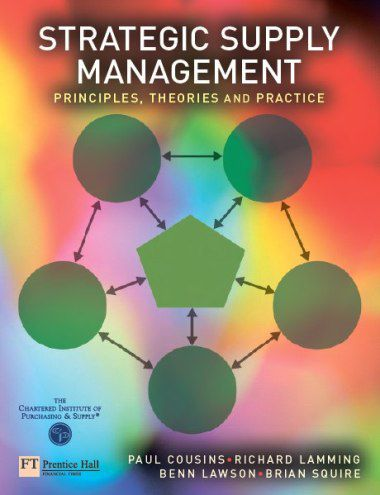 Strategic Supply Management: Principles, theories and practice (PDF)