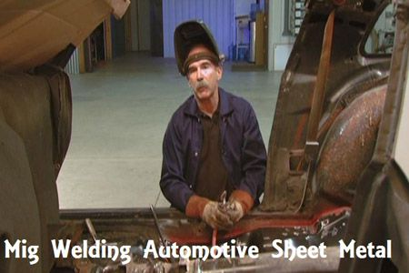 Mig Welding Automotive Sheet Metal