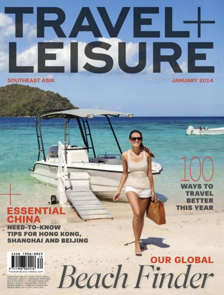 Travel + Leisure Southeast Asia - January 2014 (True PDF)