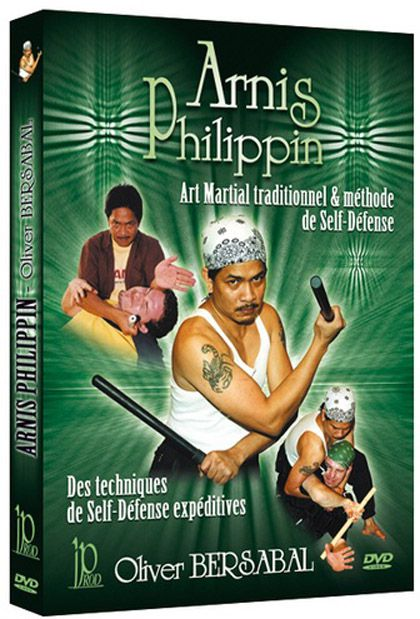 Filipino Arnis DVD with Oliver Bersabal