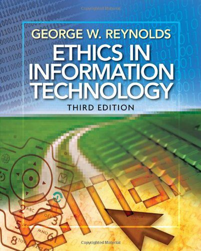 Ethics in Information Technology (PDF)