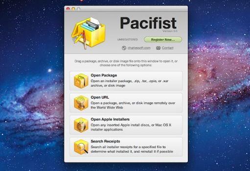 Pacifist v3.2.4 Mac OS X