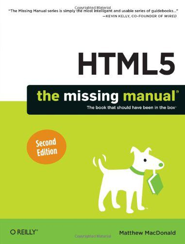 HTML5 The Missing Manual, 2nd edition