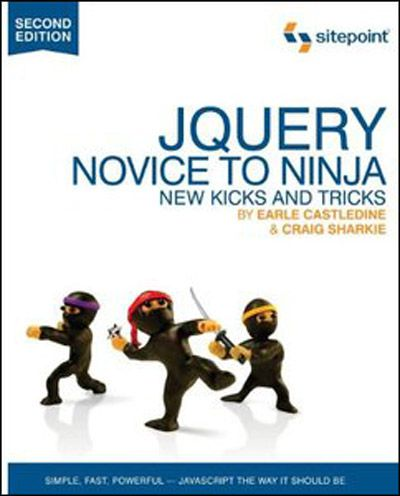 jQuery: Novice to Ninja, 2nd Edition (EPUB+PDF)