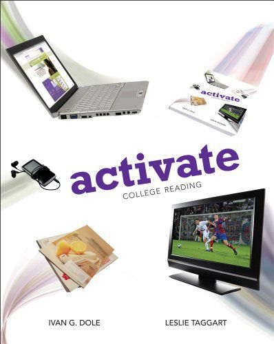 Activate: College Reading by Ivan Dole, Leslie Taggart