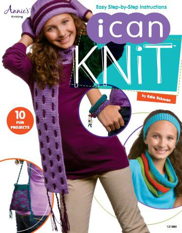 I Can Knit by Edie Eckman