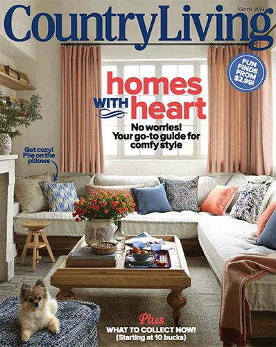 Country Living USA - March 2014