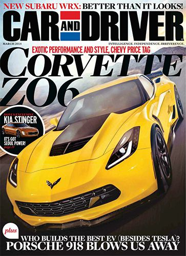 Car and Driver - March 2014 (True PDF)