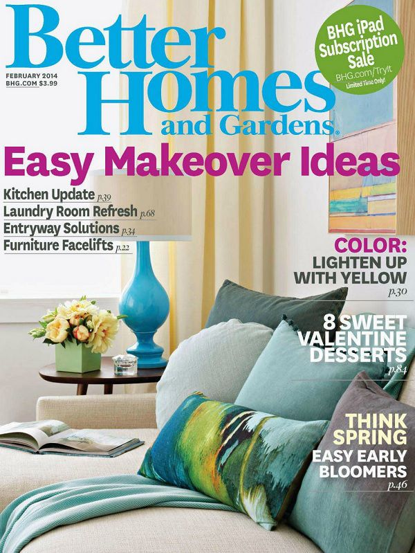 Better Homes and Gardens USA - February 2014 (True PDF)
