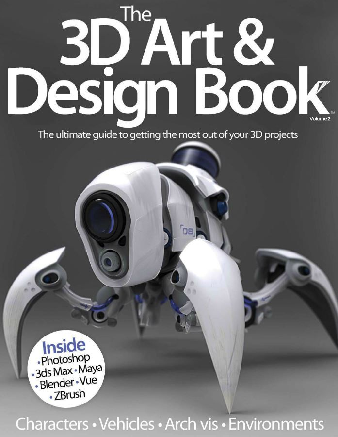 The 3D Art & Design Book Volume 2 (True PDF)