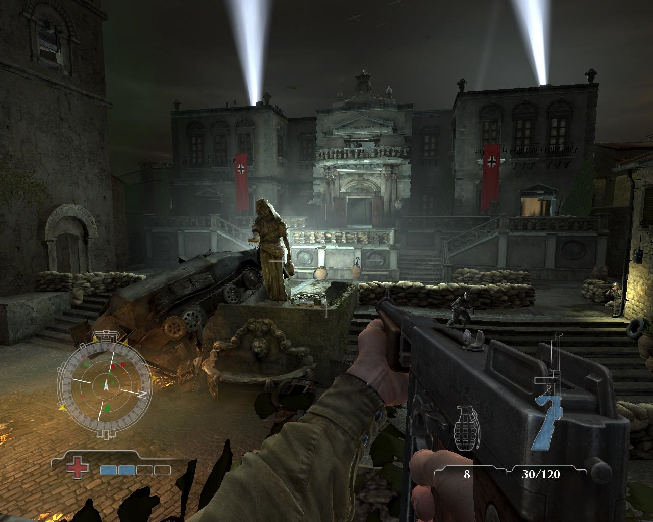 Medal of Honor Airborne (2007) PC - Скриншот 1