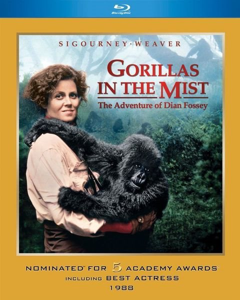 Гориллы в тумане / Gorillas in the Mist: The Story of Dian Fossey (1988) HDRip | DUB