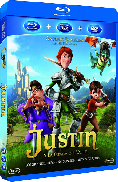 Джастин и рыцари доблести / Justin and the Knights of Valour / Justin y la Espada del Valor (Мануэль Сисилия / Manuel Sicilia) [2013, мультфильм, приключения,семейный, BDRip 1080p] (SPA Transfer) Dub + Ukr + Eng + Spa + Descr + Subs (Rus, Eng, Spa) торрен