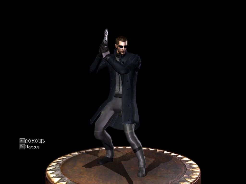 Адам Дженсен в плаще из Deus Ex: Human Revolution 4857d80a4b99c87afe6da76923f6dbcd