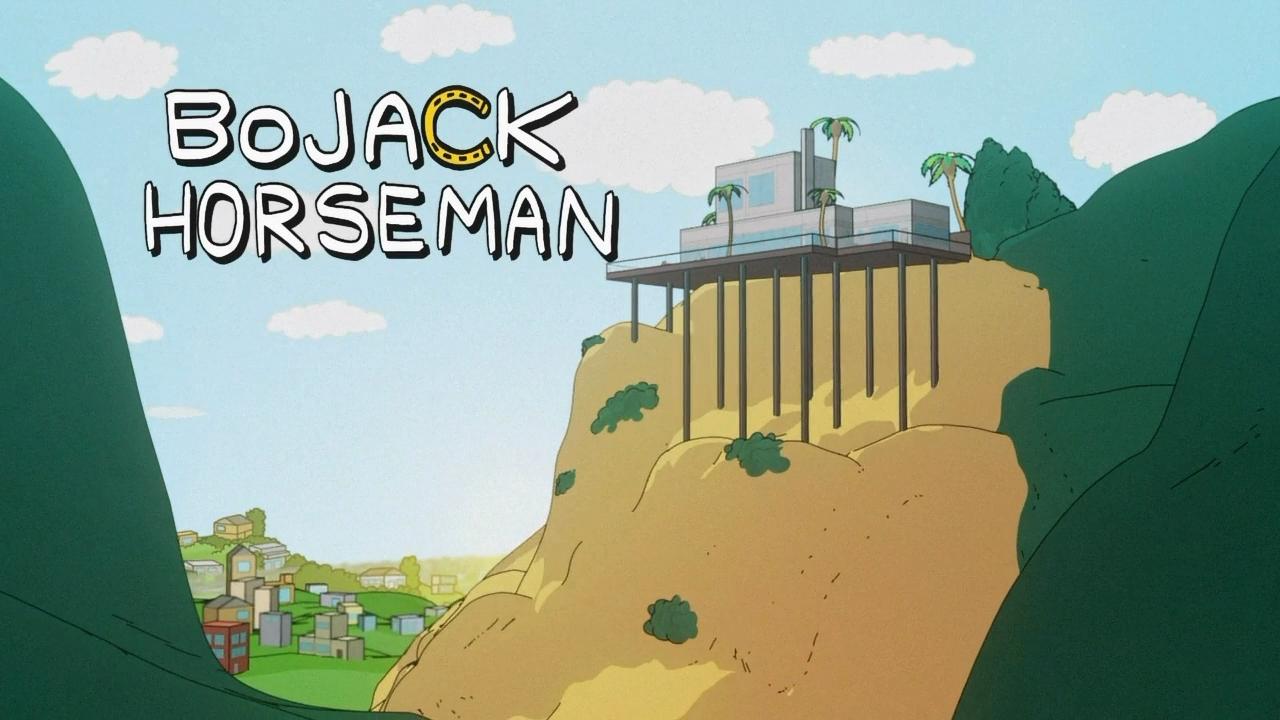 Конь БоДжек  / BoJack Horseman (1 сезон 1-12 cерии из 12) (2014) WEBRip 720p | NewStudio