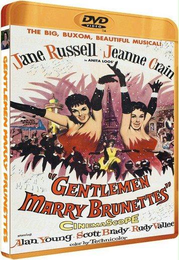 Джентльмены женятся на брюнетках / Gentlemen Marry Brunettes (Ричард Сейл / Richard Sale) [1955, США, мюзикл, комедия, HDTVRip] DVO (НТВ+)