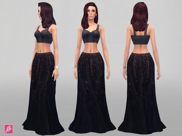 Dark Elegant Maxi Skirt (New Mesh).jpg