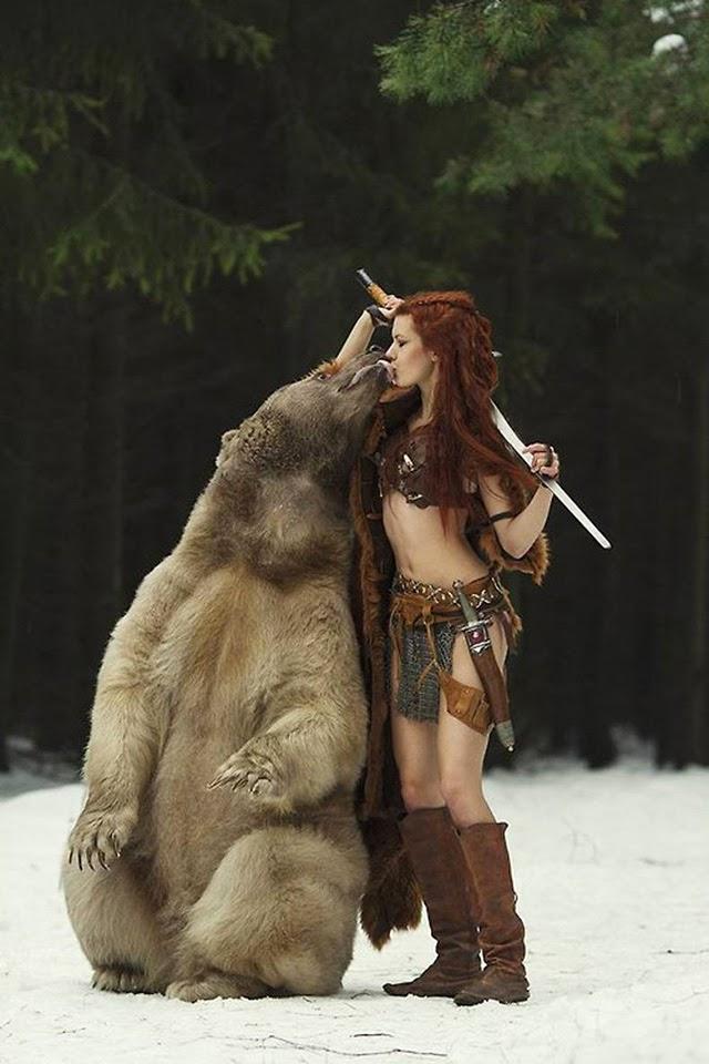 С медведем 1