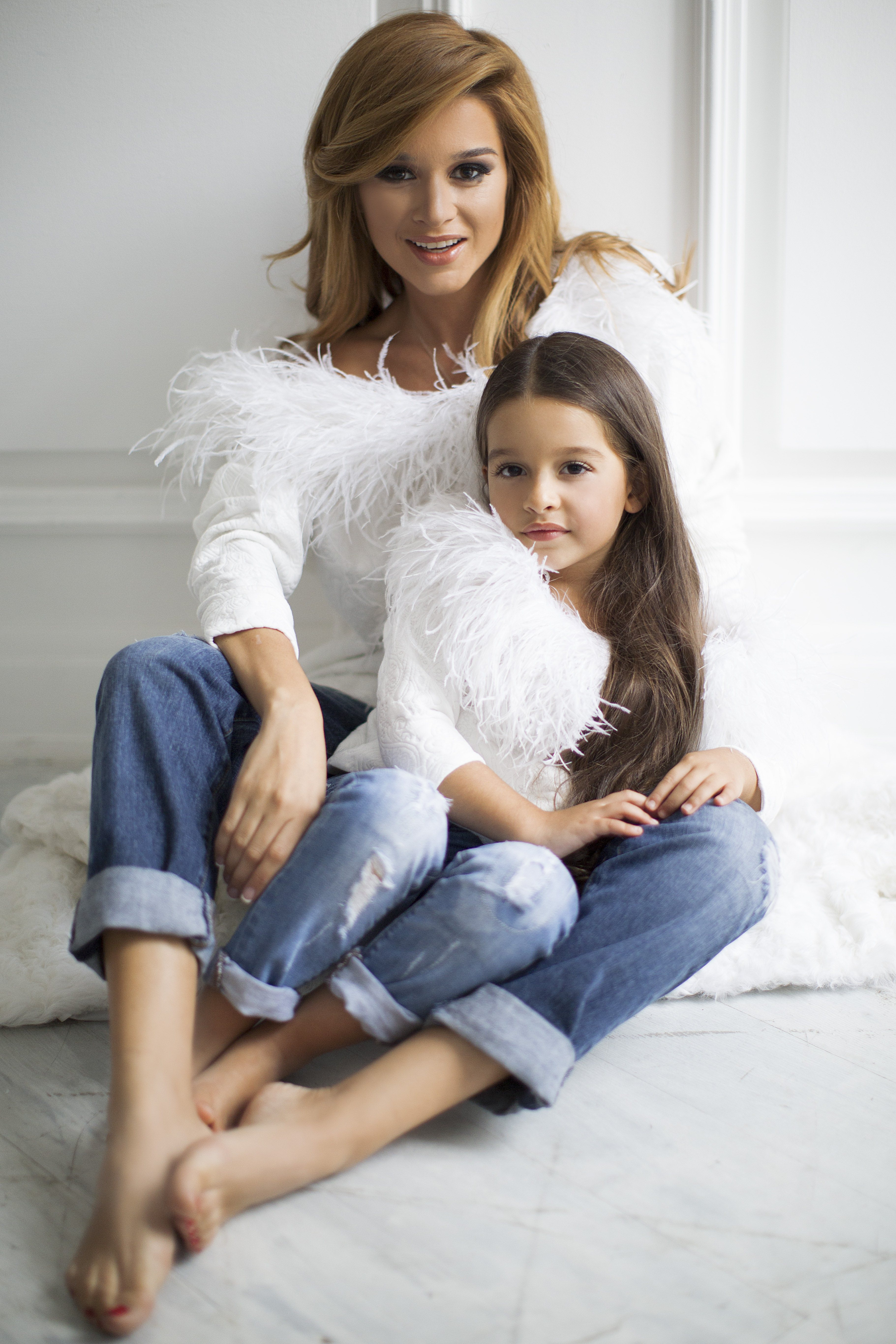Реклама мамы с дочкой 15 фотография