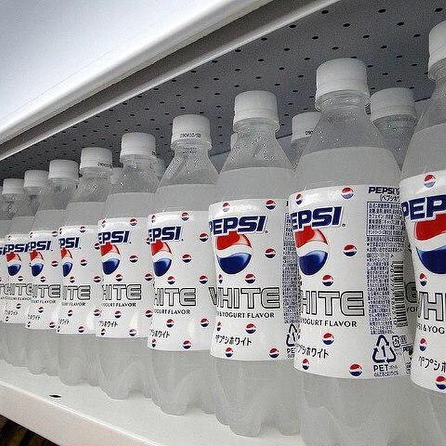 Белая Пепси 1