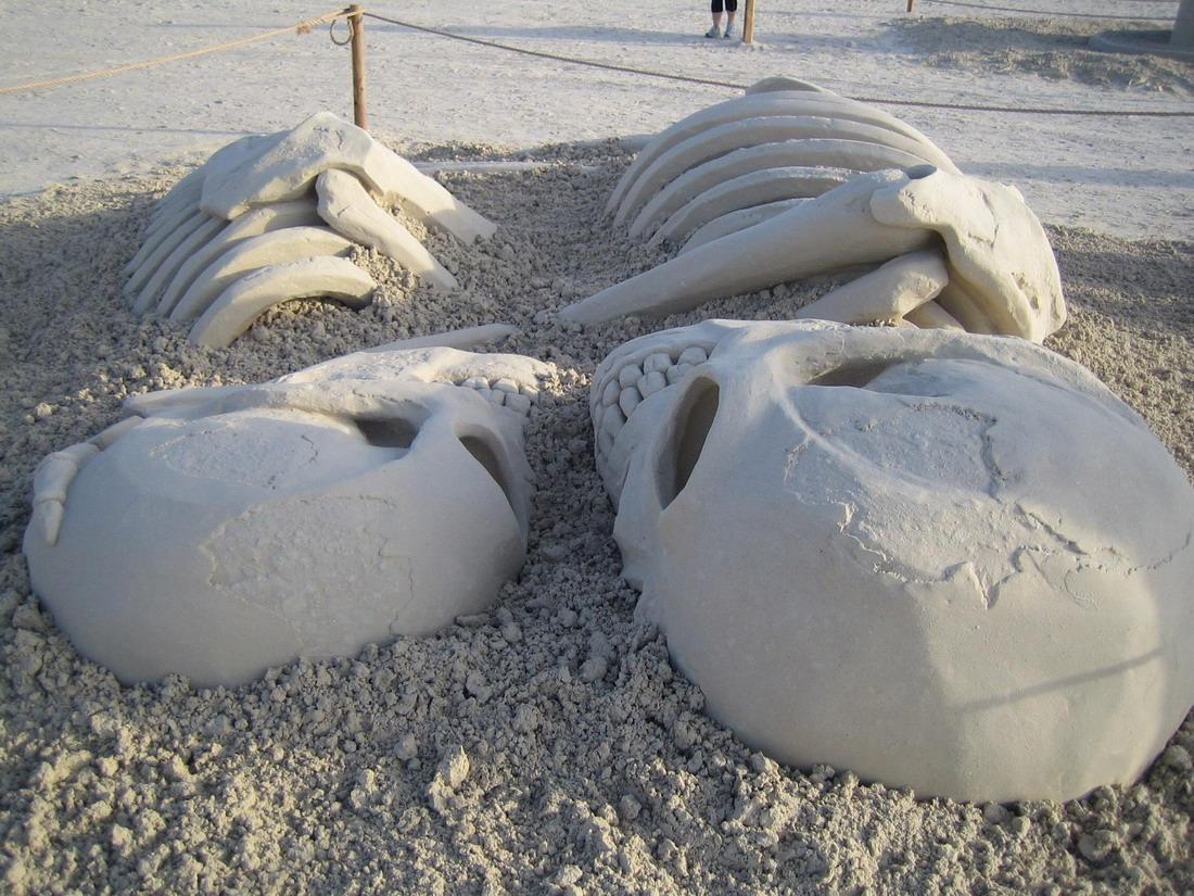 Призер конкурса фигур из песка 1