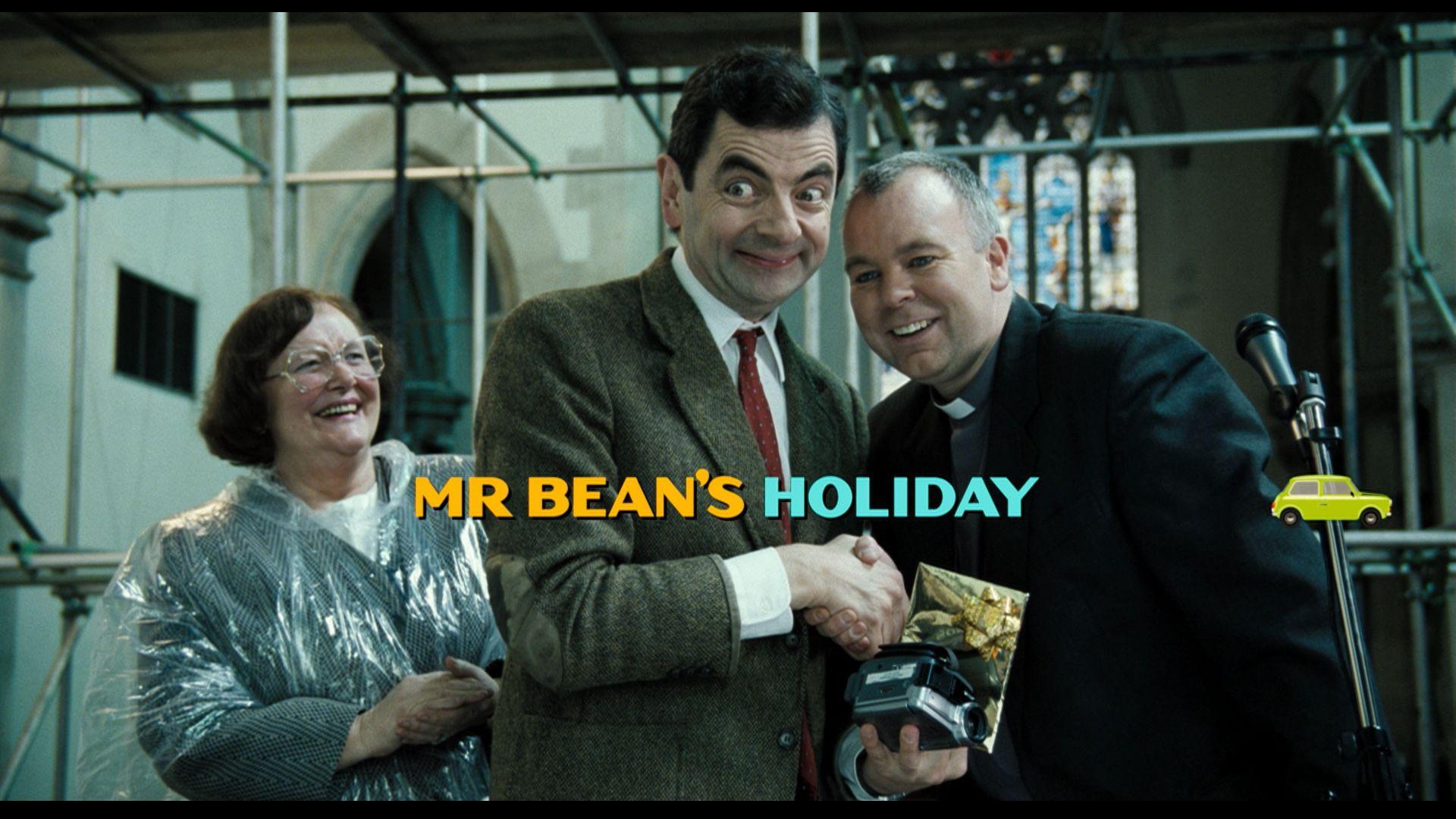 Мистер Бин на отдыхе / Mr. Bean's Holiday (2007) Blu-Ray CEE 1080p
