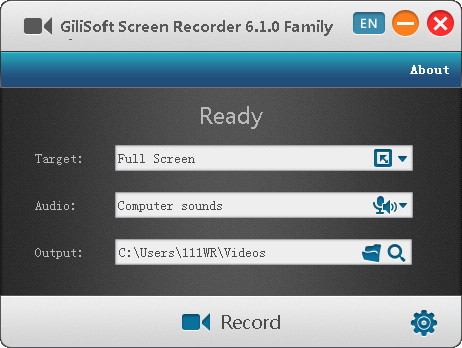 Gilisoft Screen Recorder 6.1.0