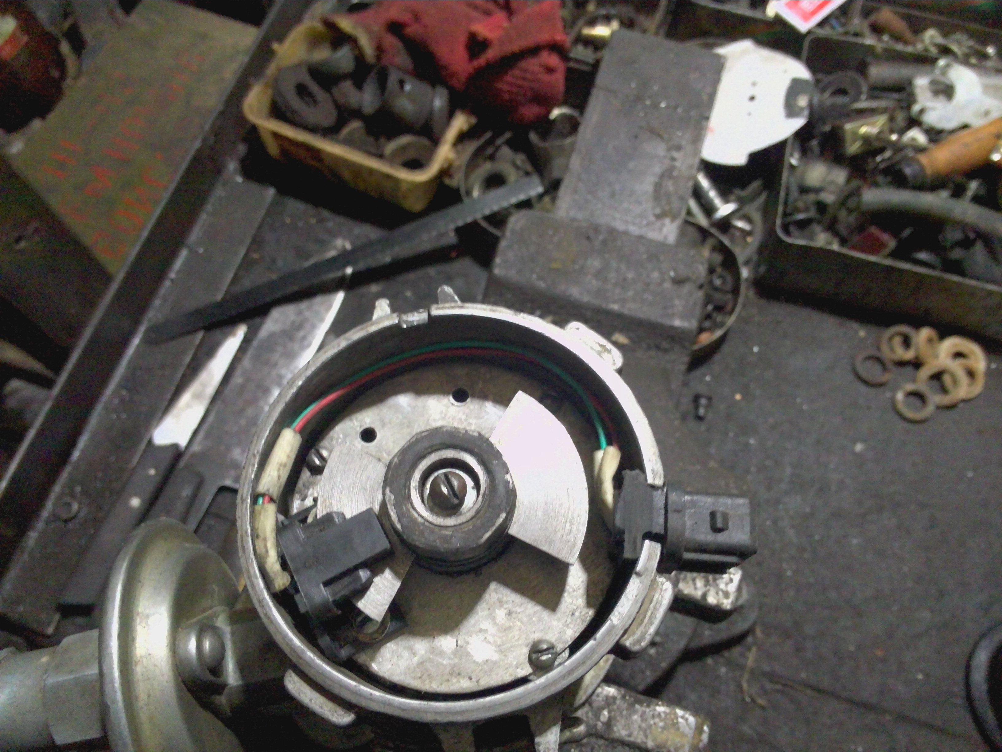 схема контактной системы зажигания газ 52
